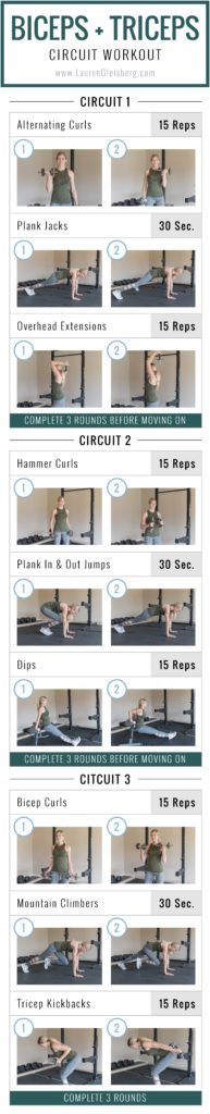 Fitmas Challenge Biceps Triceps W3d5