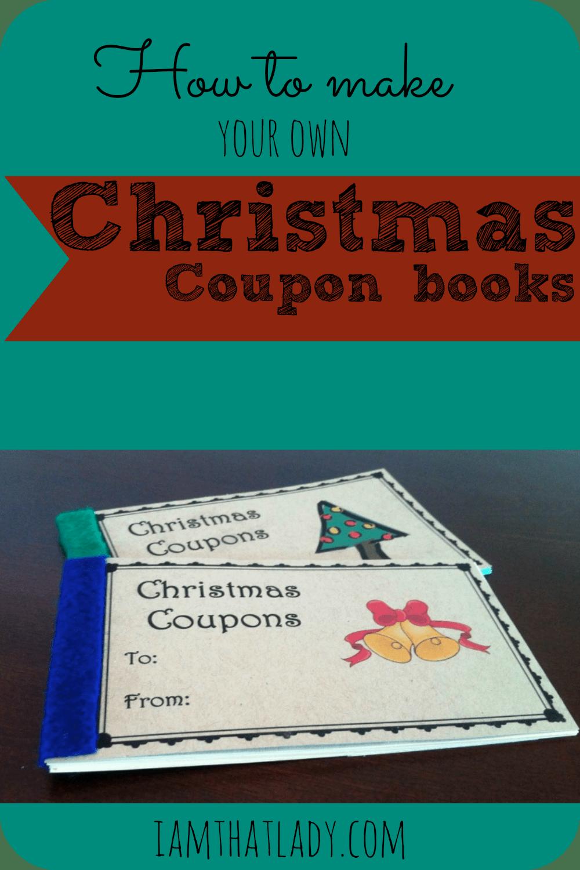 blank christmas coupons