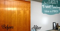 how to paint wood paneling on walls  Roselawnlutheran