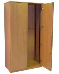 Wooden storage cupboard | Lauren James Office Interiors Ltd
