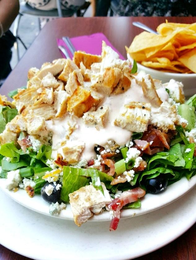 The Griddle Cafe salad