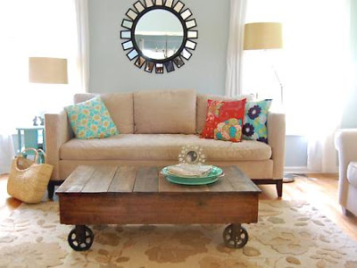 How to Get Your Husband to Build You a Factory Cart Coffee Table, Part 1.