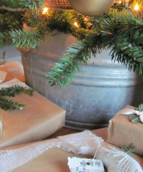 Gift Wrapping With Leftovers!