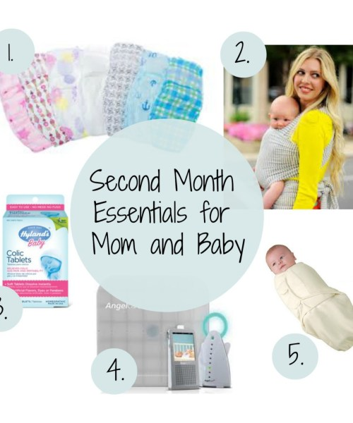 Mom and Baby: Second Month Essentials