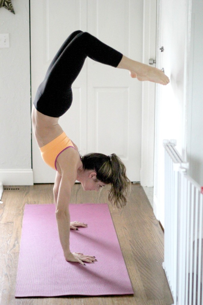 Staying Active During the Winter, Yoga, Scorpion