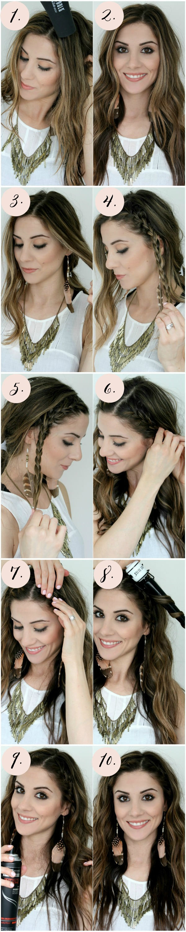 Boho, Festival Inspired Hair Tutorial