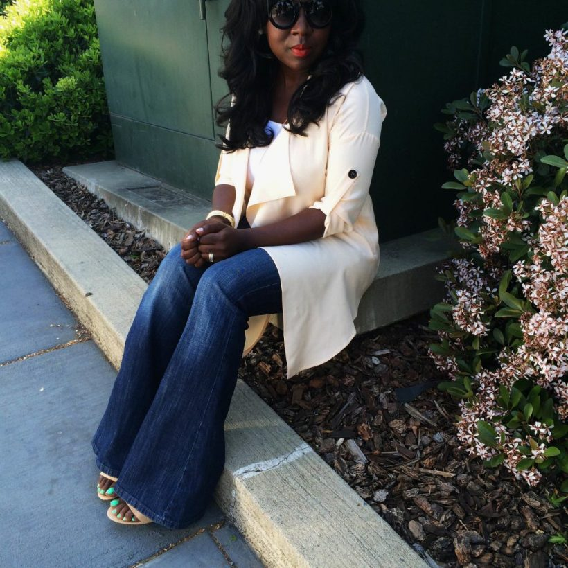 flare jeans, spring style