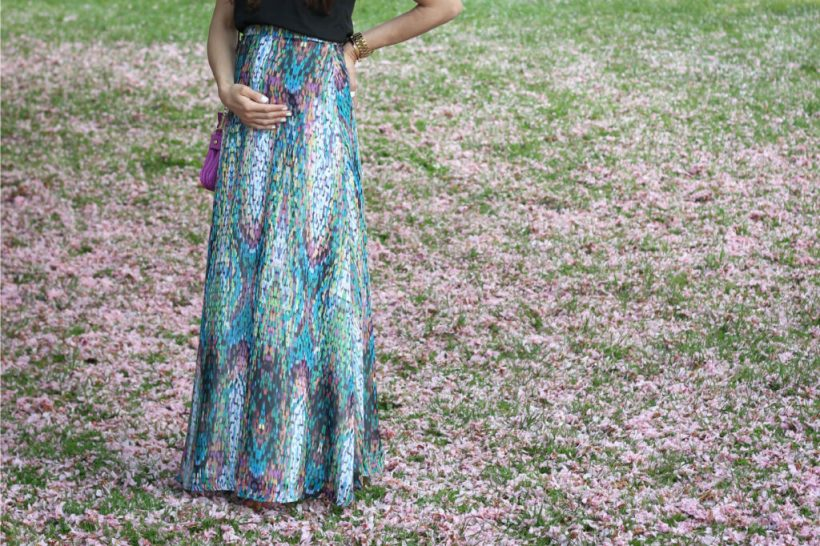 Shabby Apple Mosaic Skirt