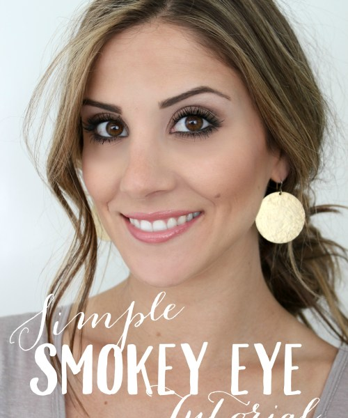 Simple Smokey Eye Tutorial with Urban Decay Naked Smoky