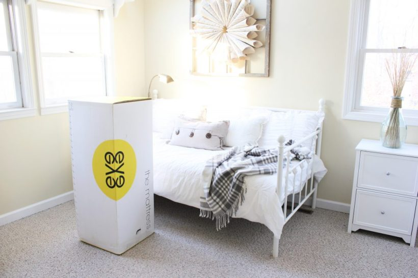 Guest room update with eve mattress