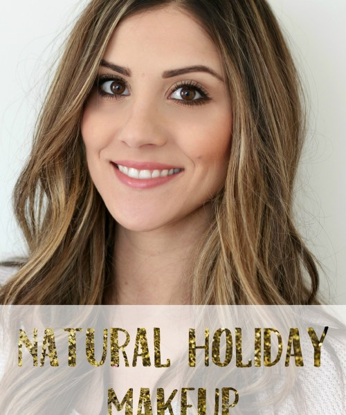 New Year's Eve Natural Holiday Makeup