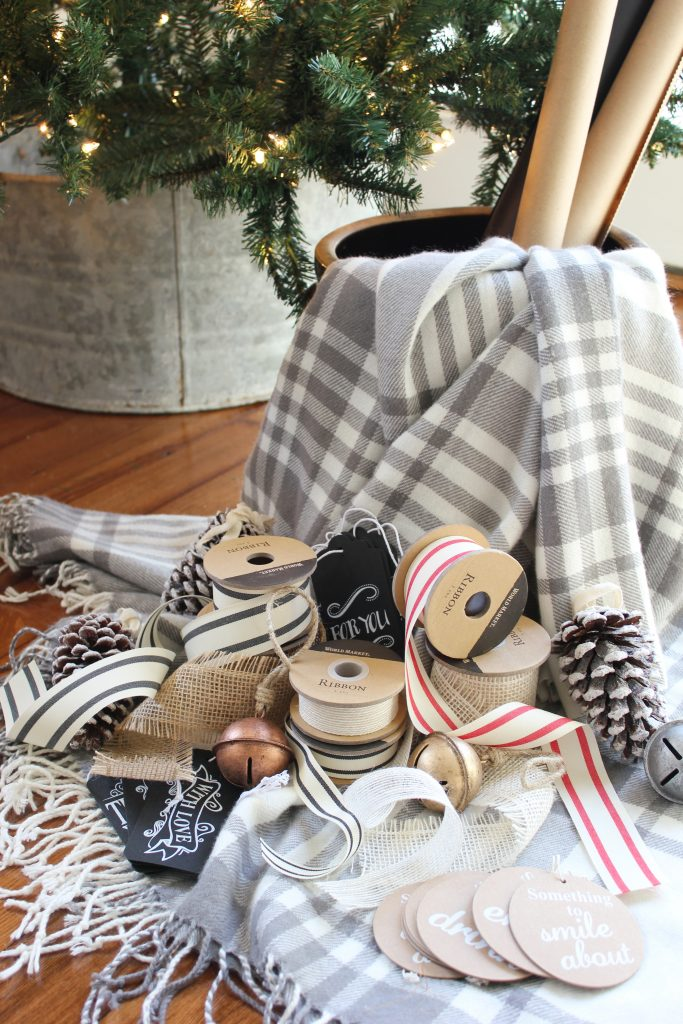 Unique wrapping ideas and tips for wrapping gifts with World Market - Lauren McBride