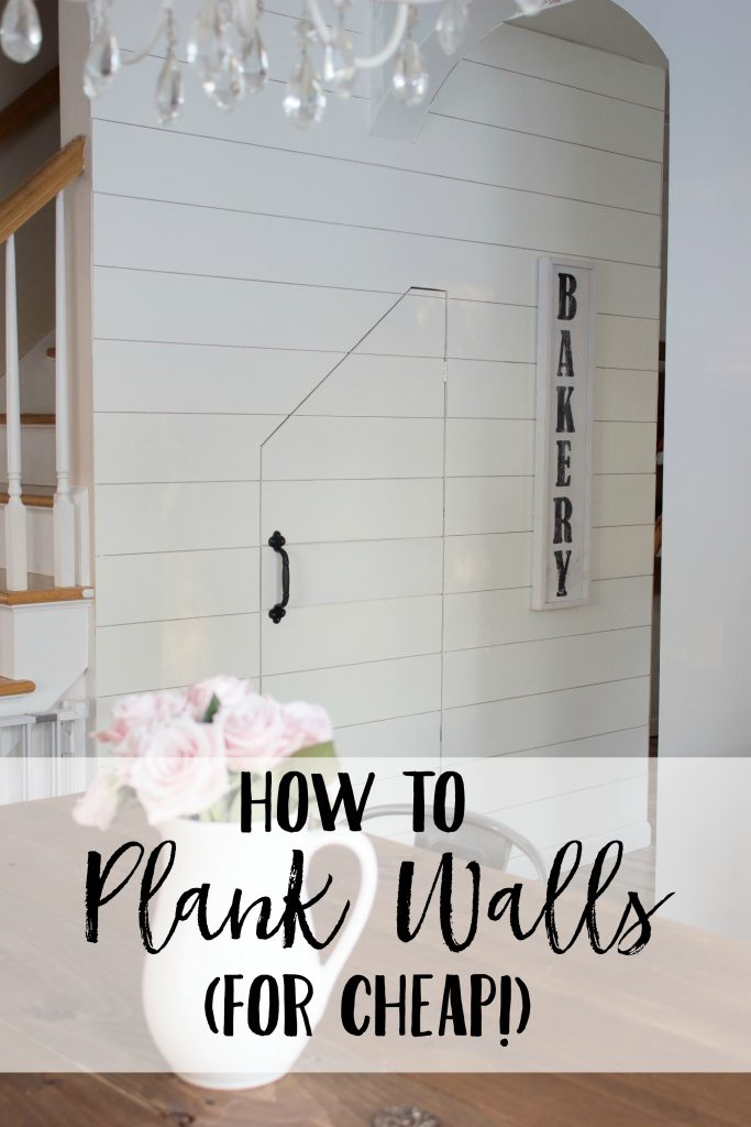 Are you ready to learn how to plank walls, and do it for cheap? This post is everything you need and more, be sure to save it!