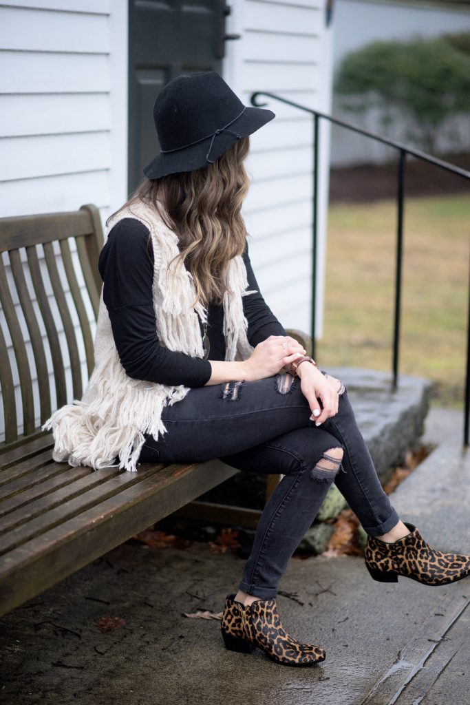 How to wear leopard booties