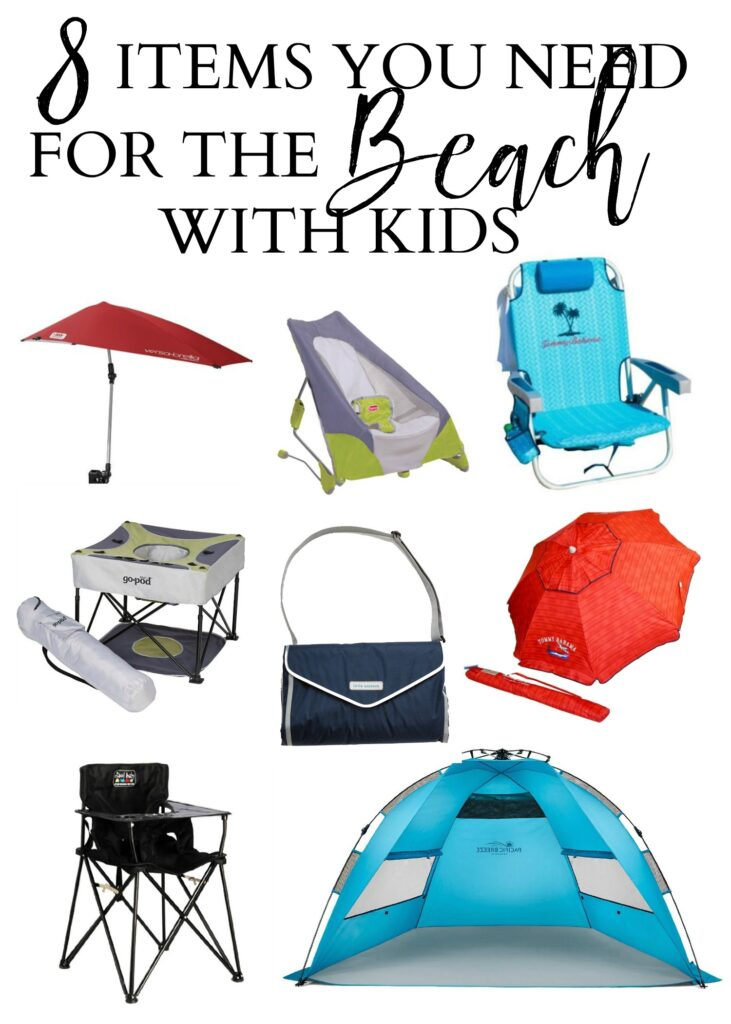 Essential items that will make your life easier when going to the beach with kids!