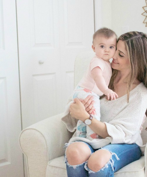 Mom + Baby // Bonding with my Daughter