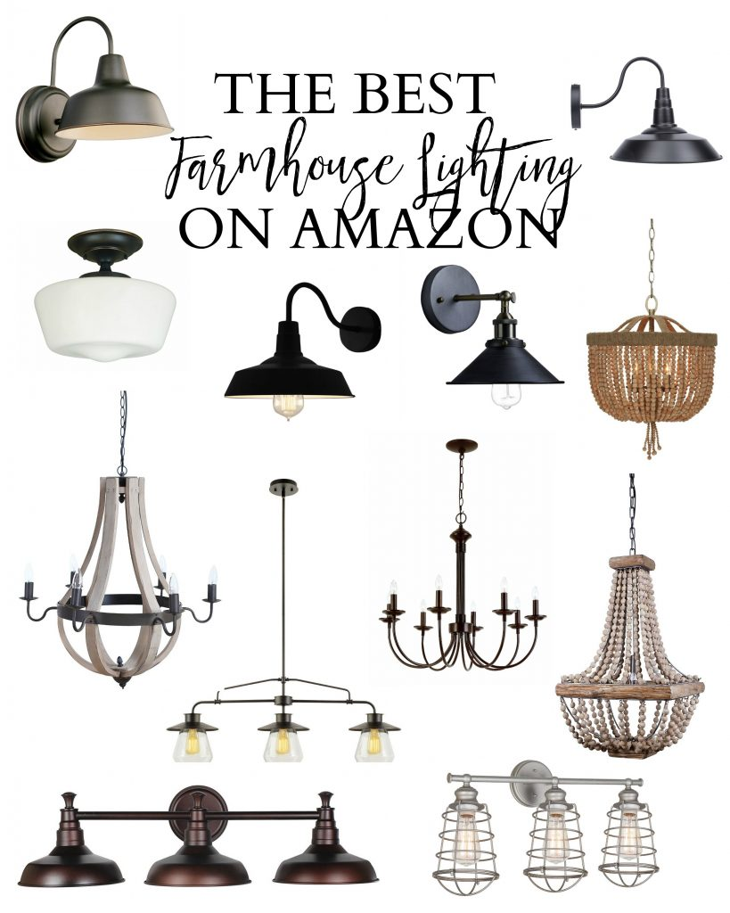 The best farmhouse lighting on Amazon
