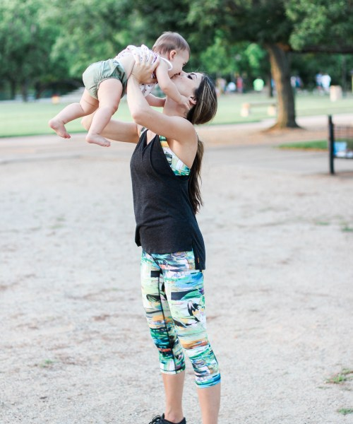 Lifestyle // Easy Playground Workout (with Kids!)