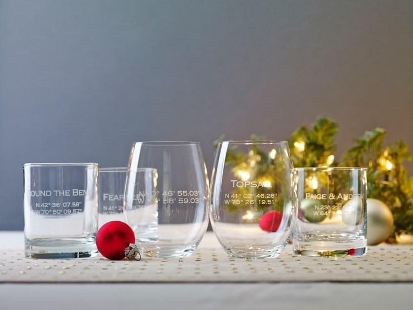 North by Northeast Coordinates Glasses