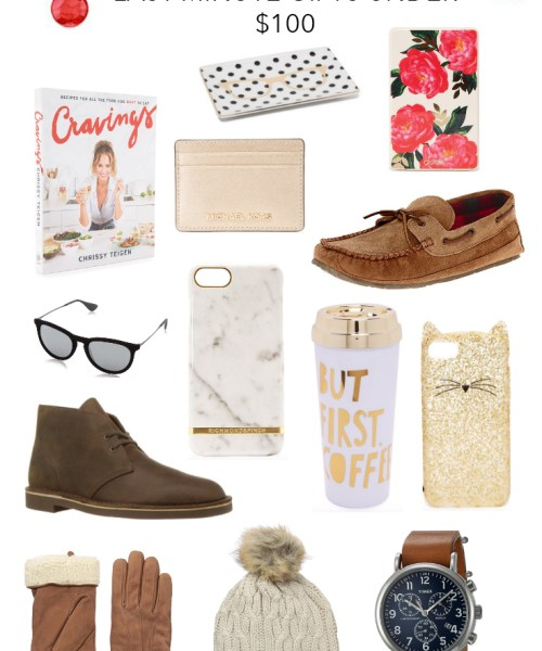 Holiday Gift Guide // Last Minute Gifts Under $100