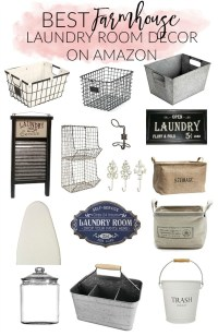 Home // Best Farmhouse Laundry Room Decor on Amazon ...