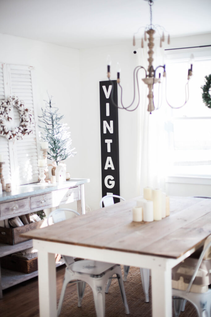 Our winter home tour and tips for transitioning from the holidays to a cozy, welcoming, wintery look in your home.