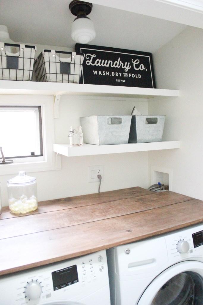 Home Farmhouse Laundry Room Lauren Mcbride