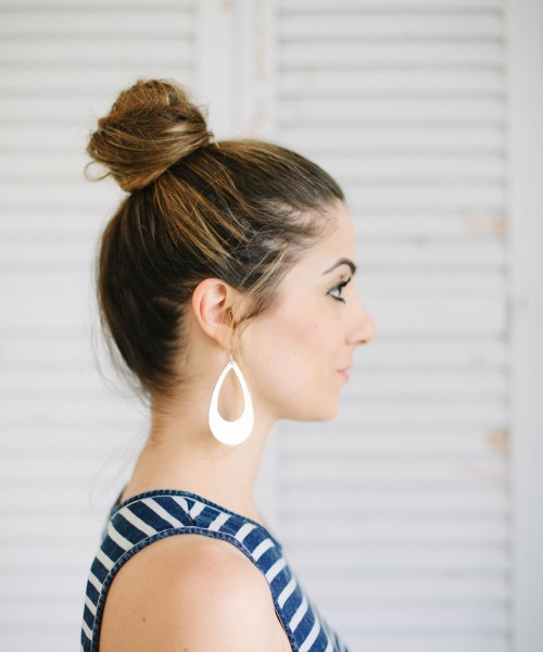 Beauty // 3 Easy Hairstyles for Moms
