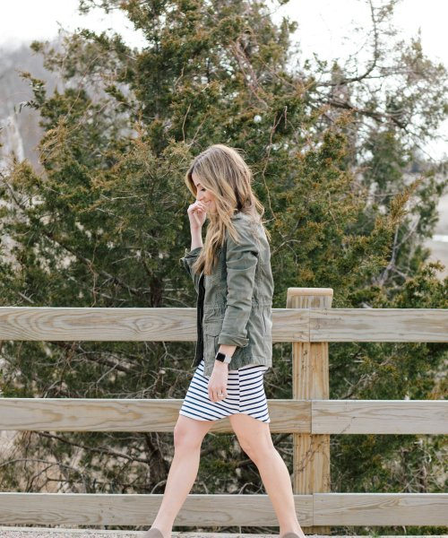 Style // How to Style a Striped Dress