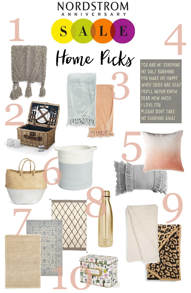 Nordstrom anniversary sale home lauren mcbride Nordstrom home decor sale