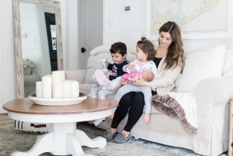 Life and style blogger Lauren McBride shares how unprepared she is for baby #3 in comparison to her first baby, and a few baby products she's stocked up on!