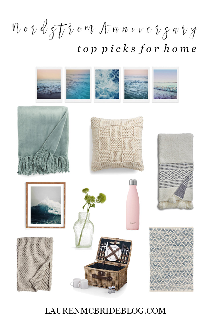 Life and style blogger Lauren McBride shares her Nordstrom Anniversary Sale 2018 top home picks on sale.