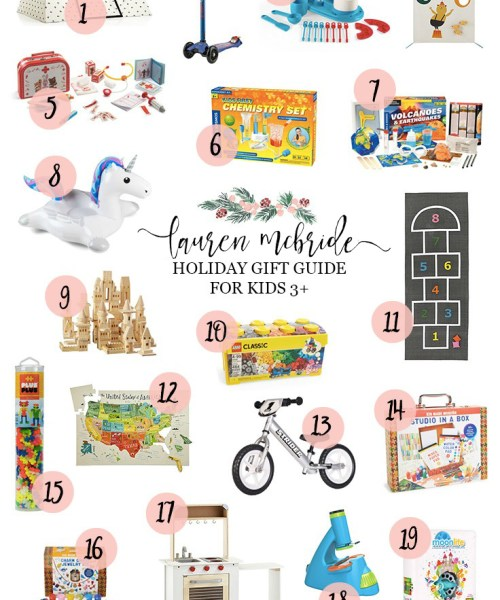 Holiday Gift Guide: Kids Ages 3 and Up