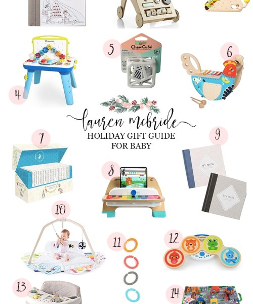 Holiday Gift Guide: 0-12 Months