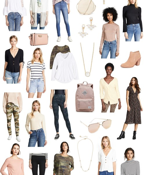 Spring Transitional Items