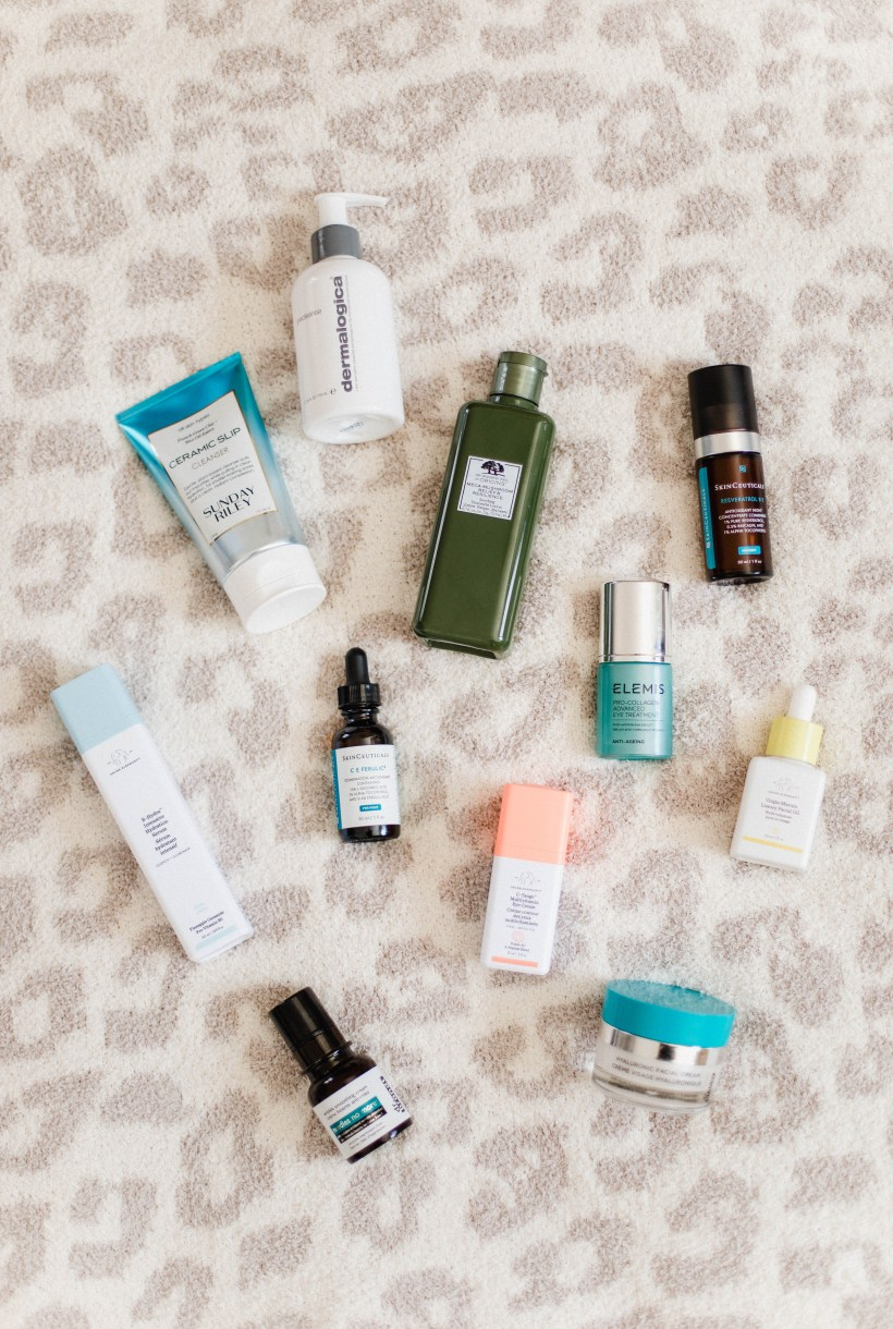 Connecticut life and style blogger Lauren McBride shares her current skincare routine and favorite products she frequently uses.