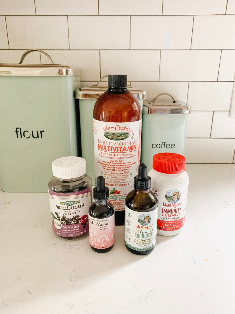 Connecticut life and style blogger Lauren McBride shares the cold and flu season supplements that work for her and her family.