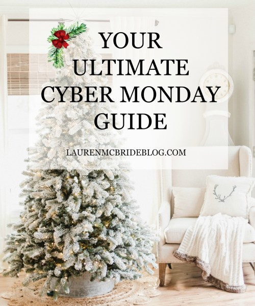 Your Ultimate Cyber Monday Guide