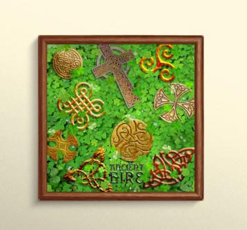 Celtic Elements Digital Print