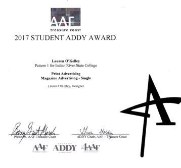 2017 AAF Addy Awards