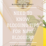 7 essential things to know before starting a Blog