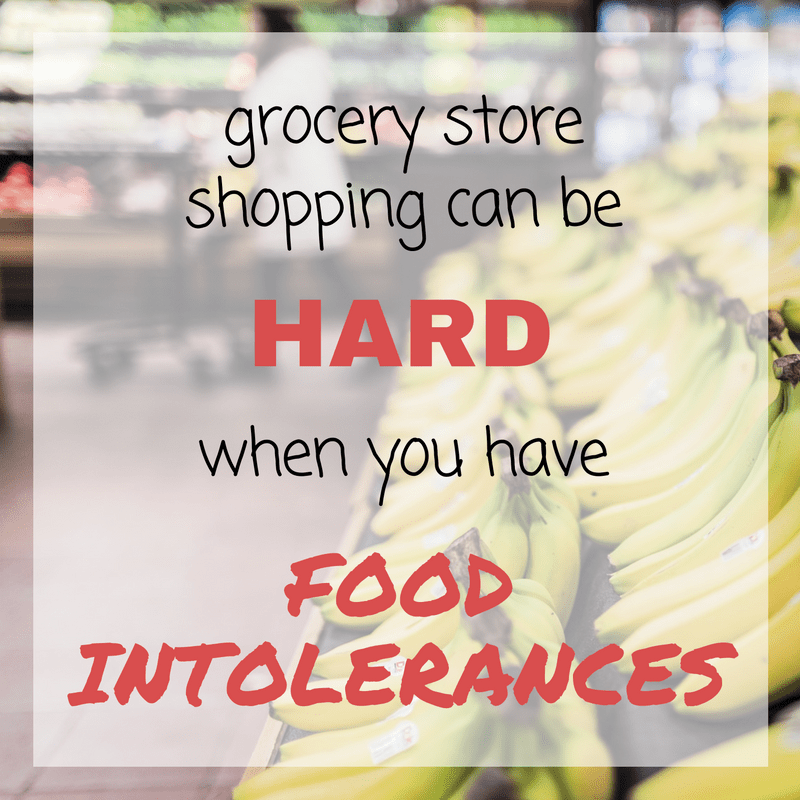 grocery store with food intolerances