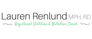 Lauren Renlund MPH RD Registered Dietitian and Nutrition Coach