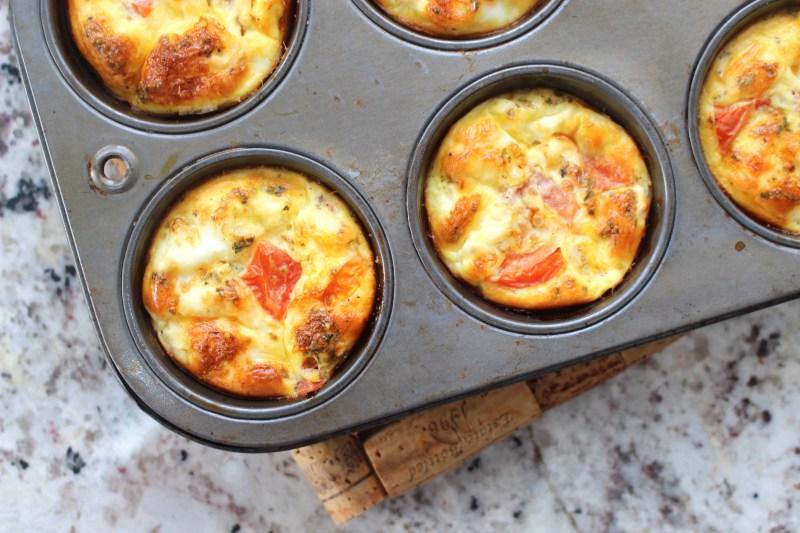 low fodmap greek egg muffins