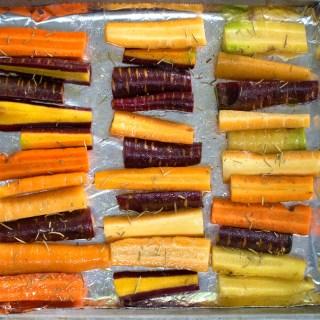 low fodmap roasted carrots