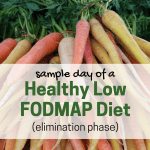 Sample Day of a Healthy Low FODMAP Diet (Elimination Phase)