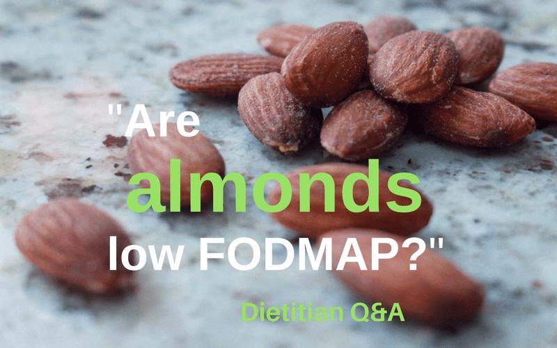 almonds low FODMAP
