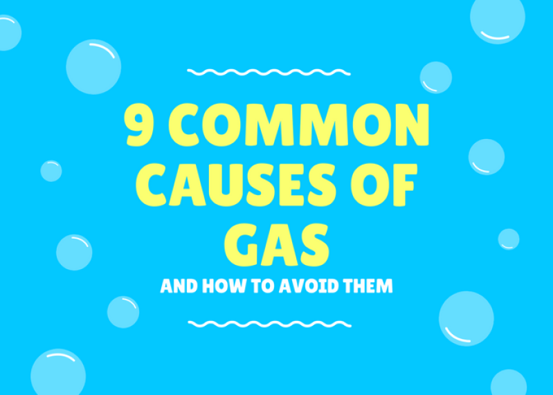 common causes of gas