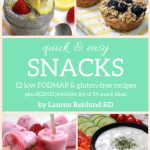 Low FODMAP Snacks E-Book Now Available!