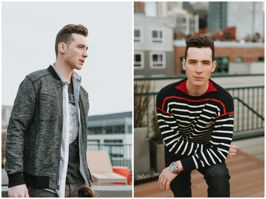 Lauren Ryan Photography, Seattle, Seattle Fashion Photographer, Seattle Rooftop, PNW Style, Seattle GQ, Seattle Men's Fashion, Nordstrom Rack, Nordstrom, Nordstrom Rack Fashion, PNW Fashion